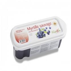Blueberry Puree Wild- 1kg Frozen
