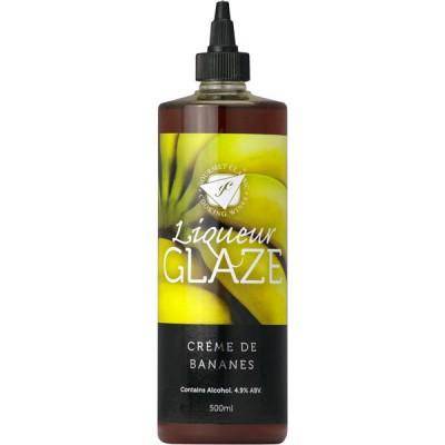 Liquer Glaze - Creme De Banana - 500ml