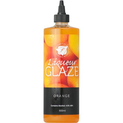 Liquer Glaze - Orange - 500ml