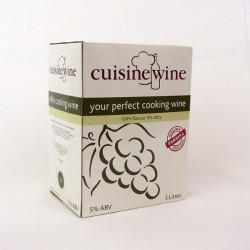 Cooking Wine - White - 3Litre