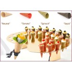 Canape Cones - Four Colours -7.5cm x 96 (508)