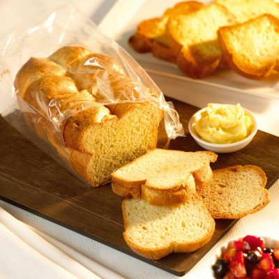 Brioche Nanterre Loaf-Sliced (Thaw & Serve)(6x280g)