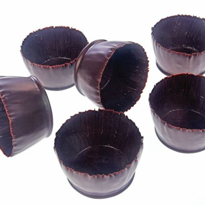 Marie Charlottes -Chocolate Cups (6x3cms) x135case