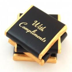 Mint Crisp Chocolates - Foil - Black Band (400) 2kg