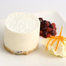 Individual Rich Vanilla Cheesecake