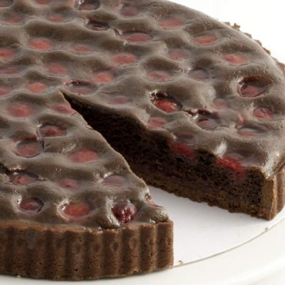 Belgian Chocolate & Raspberry Tart
