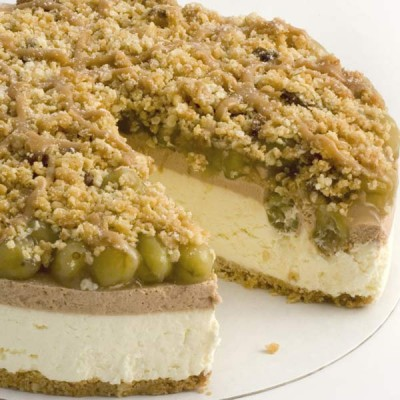 Gooseberry & Toffee Crunch Dessert