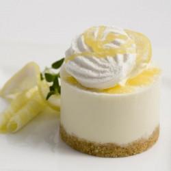 Individual Lemon Posset Cheesecake x 20