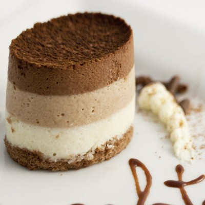 Individual Mini Triple Chocolate Mousse