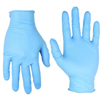 Blue Food Grade Gloves x 100