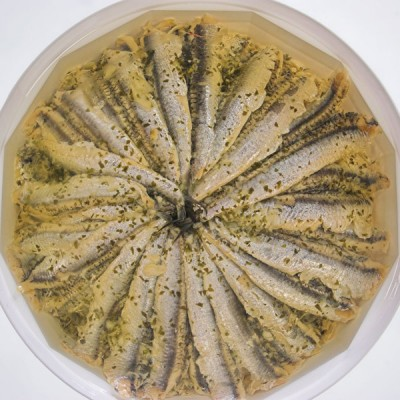 Anchovy Fillets In Oil - 1kg Tub