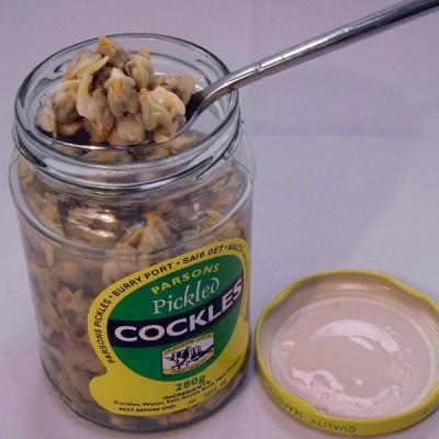 Cockles - Cooked In Vinegar - 280g Jar