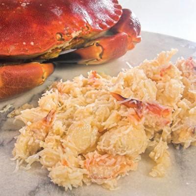 Crabmeat White Pasteurised (Devon) - 454g