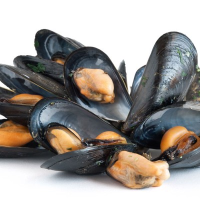 Natural Mussels In Shell