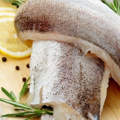 Hake Fillets - Skinless, 6-8oz x 10lbs
