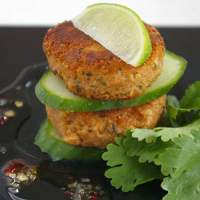 Crab Cakes Thai Style + Chilli & Garlic (48 x 28g)