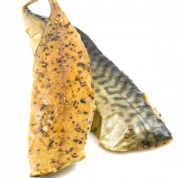Smoked Mackerel Fillets & Pepper - 3.18kg Box