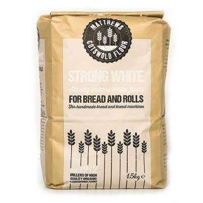 Bread Flour - Bakers Strong White-1.5kg