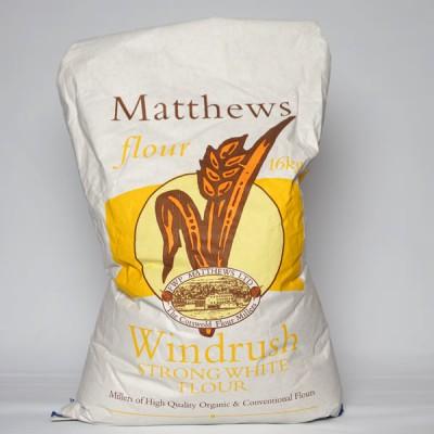 Bread Flour - Windrush Strong White - 16kg