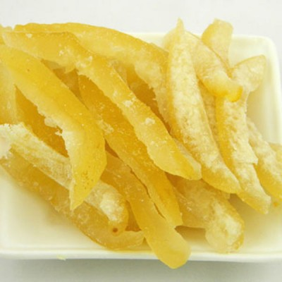 Lemon Peel Candied