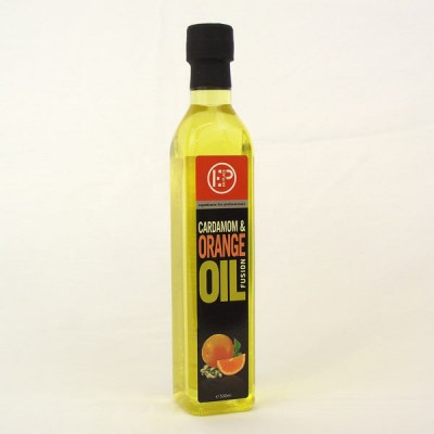 Cardamon+Orange Oil -500ml Bottle