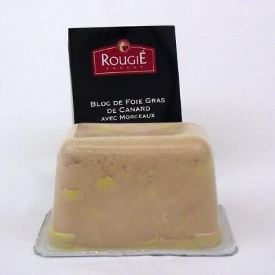 Foie Gras Terrine- Duck - 30% Pieces - 500g