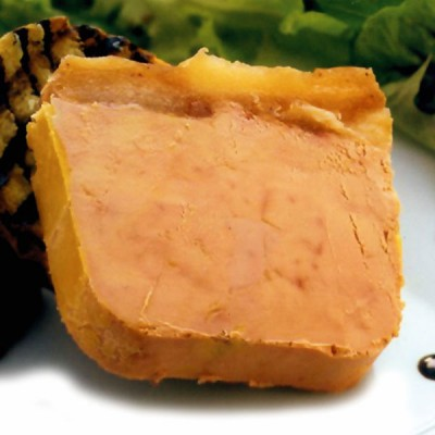 Foie Gras Terrine - Goose 30% Pieces - 500g