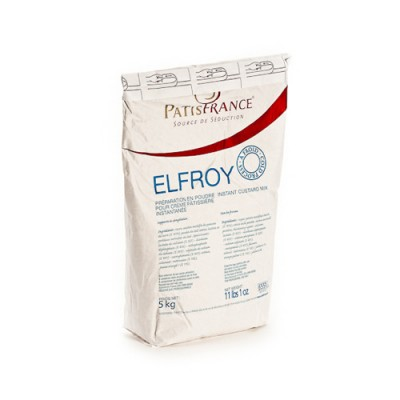 Elfroy - Cold Creme Patisserie Mix - 5kg