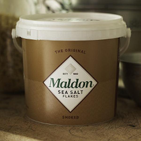 Maldon Sea Salt - Smoked - 1 5kg Tub