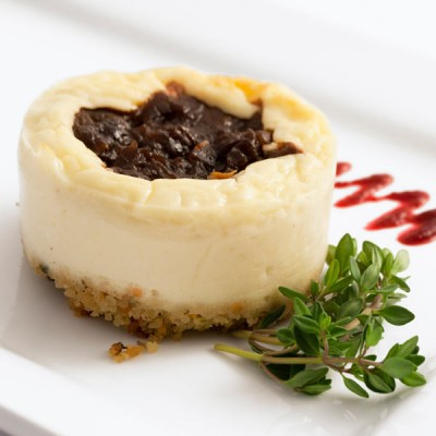 Goat Cheese Red Onion Marmalade Cheesecake x 12