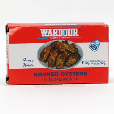 Smoked Oysters - 85g Tin
