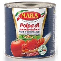 Tomatoes - Diced-Chopped 2.55kg Tin