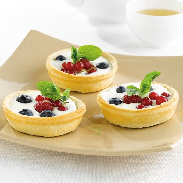 Panna Cotta in a Pidy Gourmet Quiche